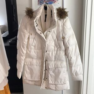 White Down Jacket 🧥